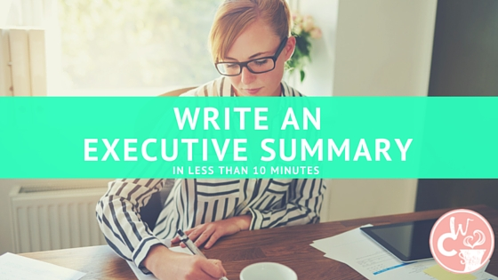 An EASY guide to writing an Executive Summary for your Marketing Plan