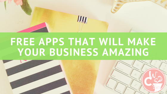 Save time, increase productivity, and grow your business with these 8 (mostly FREE) apps!
