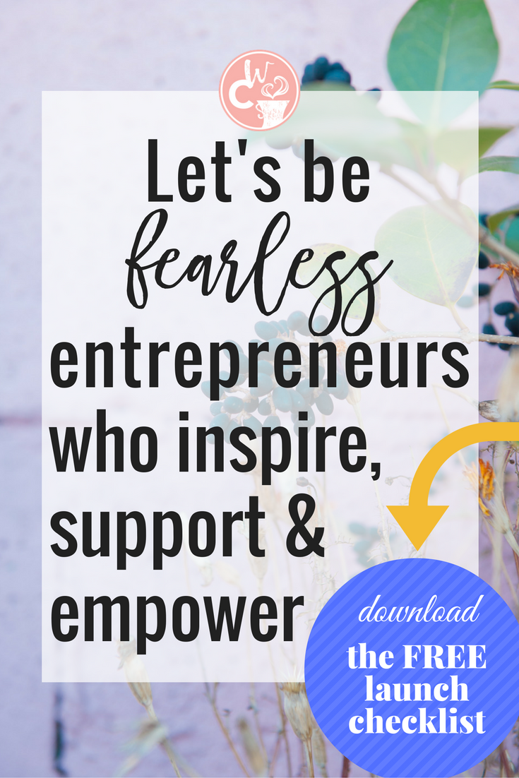 Join a fearless tribe of entrepreneurs who use their God-given talents to pursue their passions while inspiring, supporting, and empowering those around them.