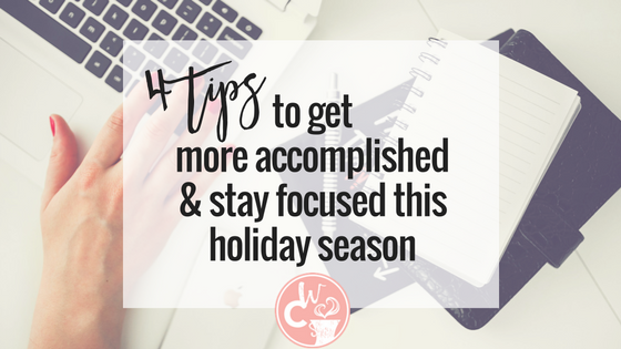 Run your business AND get your shopping done this holiday season. HERE IS HOW!