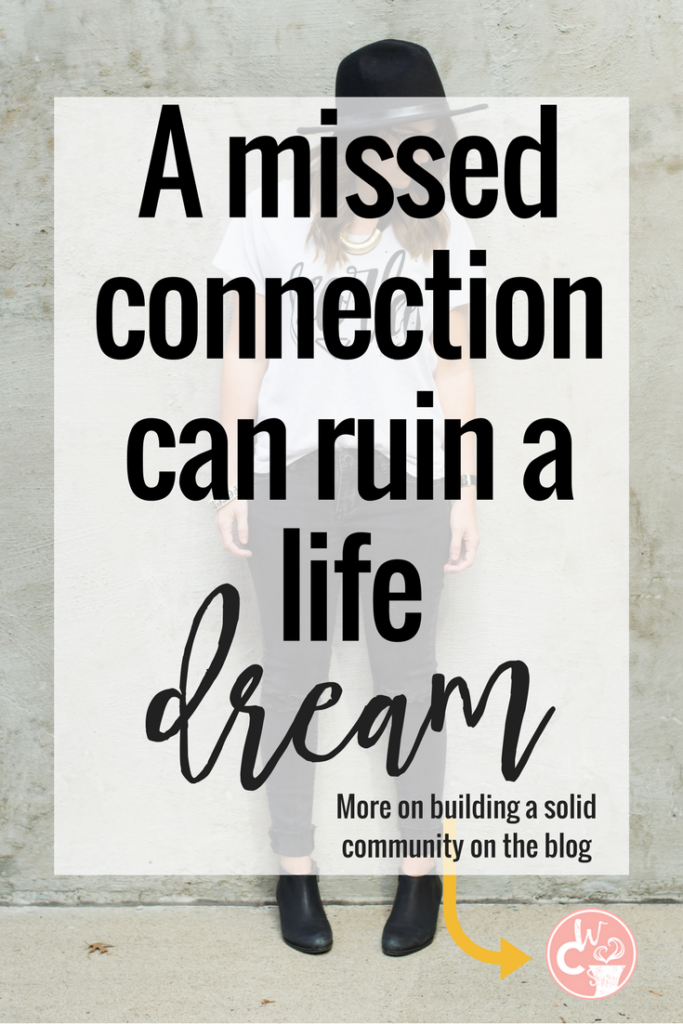"""Our guest blogger, Meagan Newell, tells us how """"missed connections"""" can limit our success when it comes to our business. Read more about how building authentic relationships helps you to gain more business."""