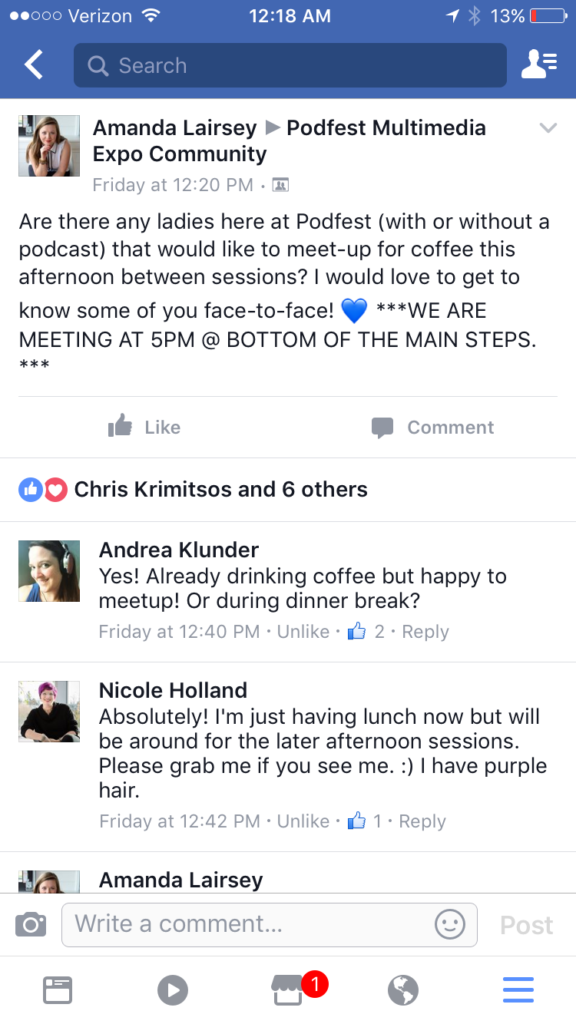 Podfest Screenshot